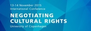 International Conference at Copenhagen University.